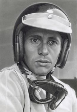 Mark Stewart写实人物肖像铅笔画作品欣赏(7)