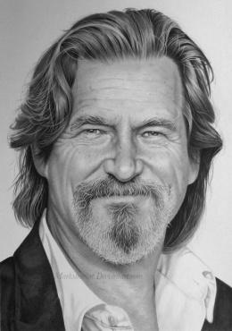 Mark Stewart写实人物肖像铅笔画作品欣赏(3)