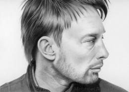 Mark Stewart写实人物肖像铅笔画作品欣赏(11)