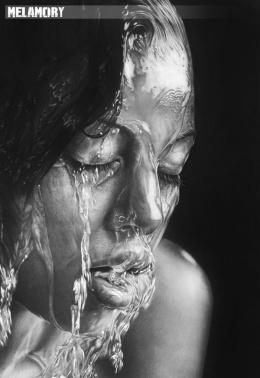 Melamory Larionova逼真写实素描人像铅笔画作品赏析(2)