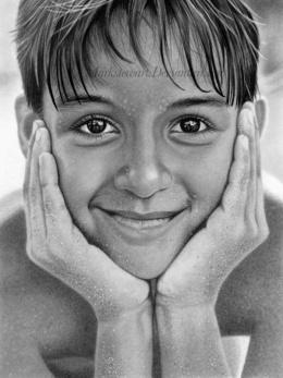 Mark Stewart写实人物肖像铅笔画作品欣赏(2)
