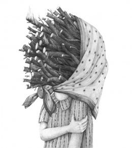 大师超现实肖像设计素描作品欣赏(8)