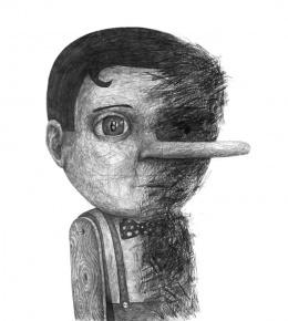 大师超现实肖像设计素描作品欣赏