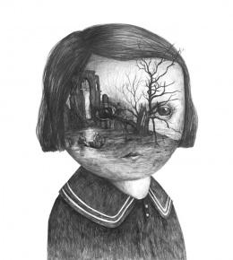 大师超现实肖像设计素描作品欣赏(3)